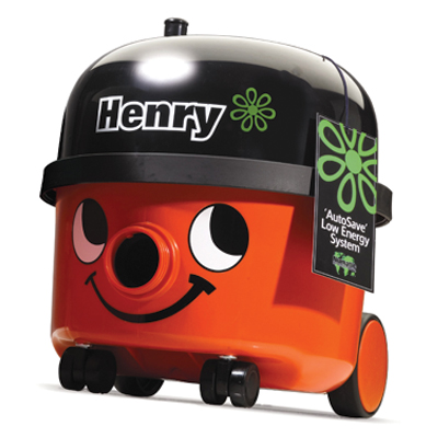 henry vacuum cleaner floorcare machines. The Henry vacuum cleaner an old favourite with many is now new and improved~ so you get the same Henry quality and durability but save energy at the same time. Two settings vacuum. Used alongside the new hepafl sign