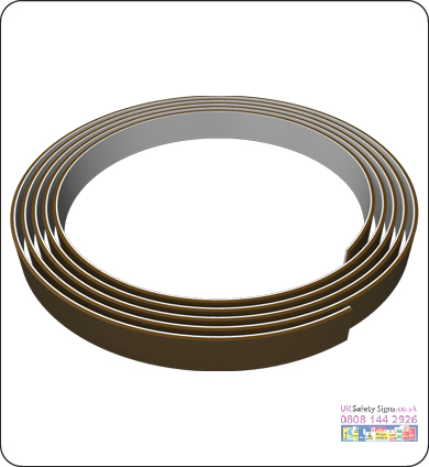 Self adhesive steel tape 12 x 30m no graphics sign