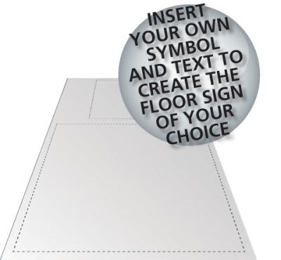 floor graphic sign