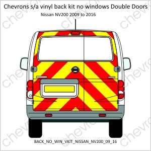 Nissan NV200 Double Doors 2009 to 2016
