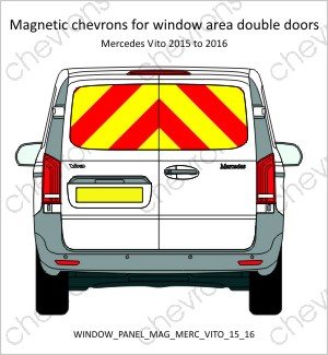 Mercedes Vito Double Doors 2015 to 2016