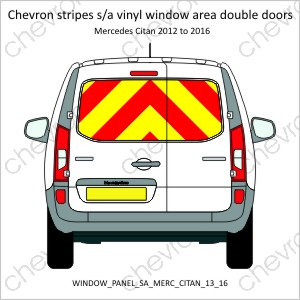 Mercedes Citan Double Doors 2013 to 2016