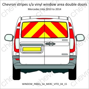 Mercedes Vito Double Doors 2004 to 2015