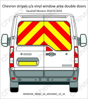 Renault Traffic Vauxhall Vivaro Double Doors 2001 to 2016 Low Roof